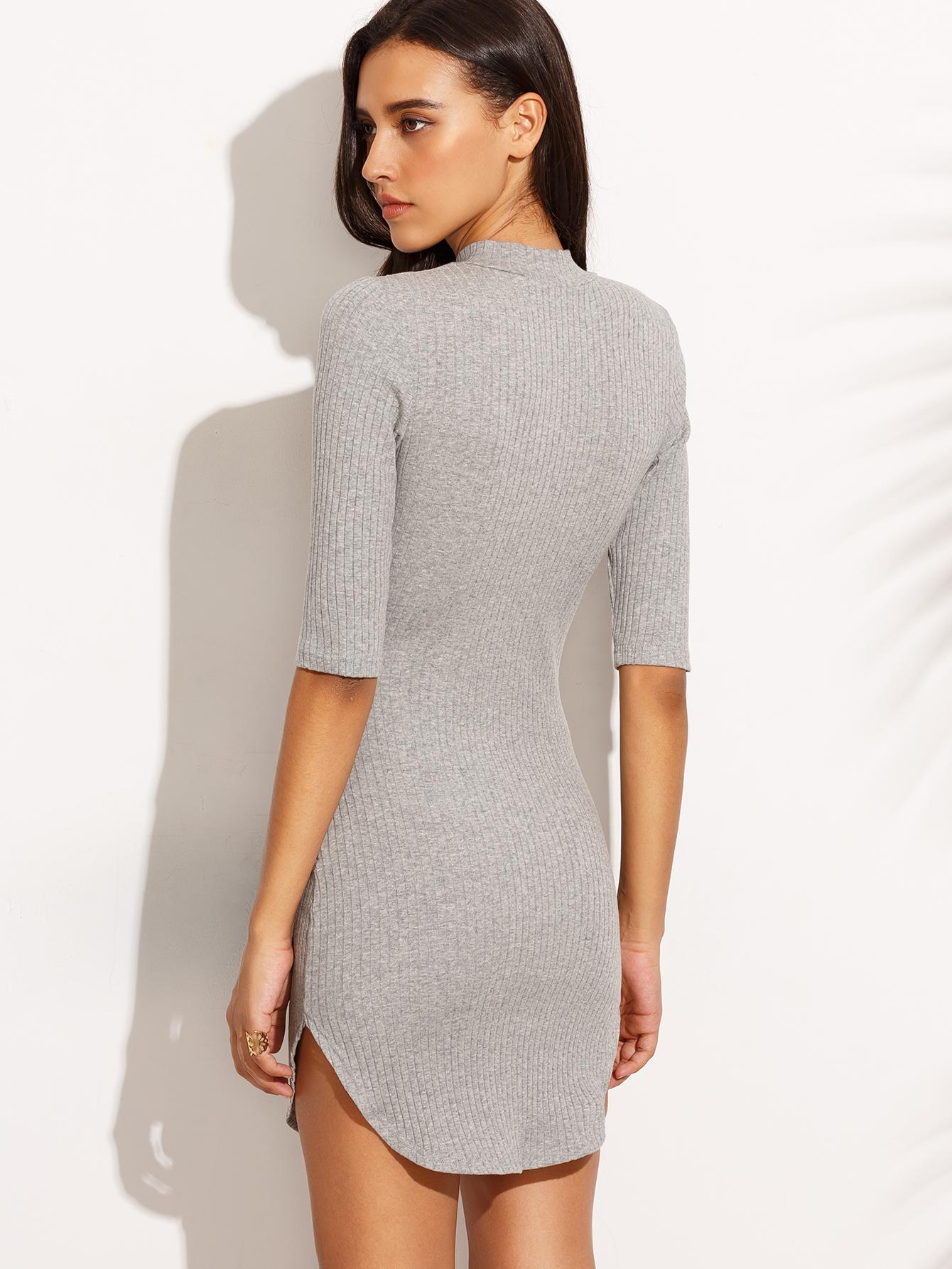 Трикотажное платье купить дешево